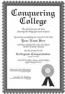 Conquering College cover